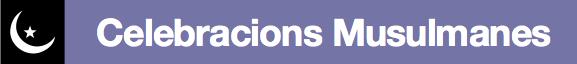 logo celebracions musulmanes