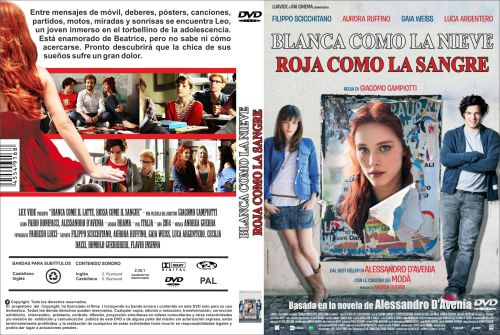 Blanca Como La Nieve Roja Como La Sangre - dvd