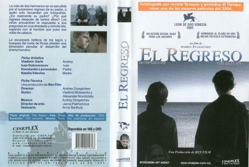 El Regreso - dvd