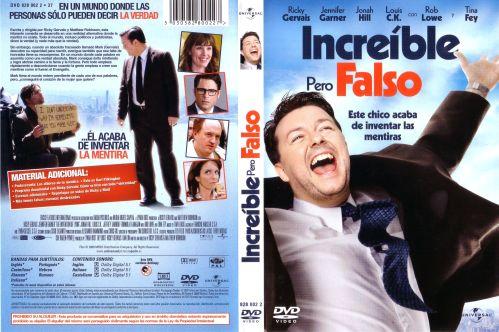 Increible Pero Falso - dvd
