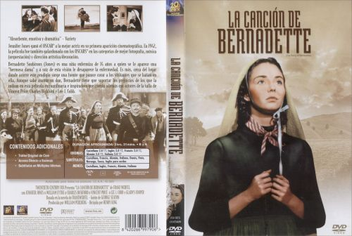 La Cancion De Bernadette - dvd