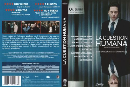 La Cuestion Humana - dvd