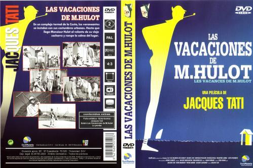 Las Vacaciones De M Hulot - dvd