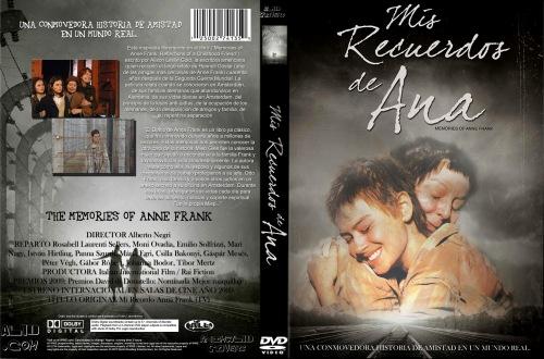 Mis recuerdos de Ana cartell dvd