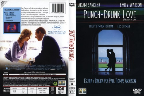 Punch Drunk Love Embriagado De Amor - dvd